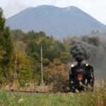 ALL ABOARD …… The Niseko Steam Locomotive