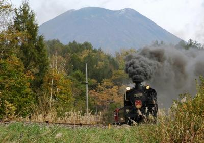 ALL ABOARD …… The Niseko Steam Locomotive
