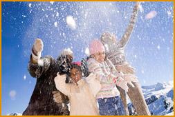 Fun in the Niseko Snow