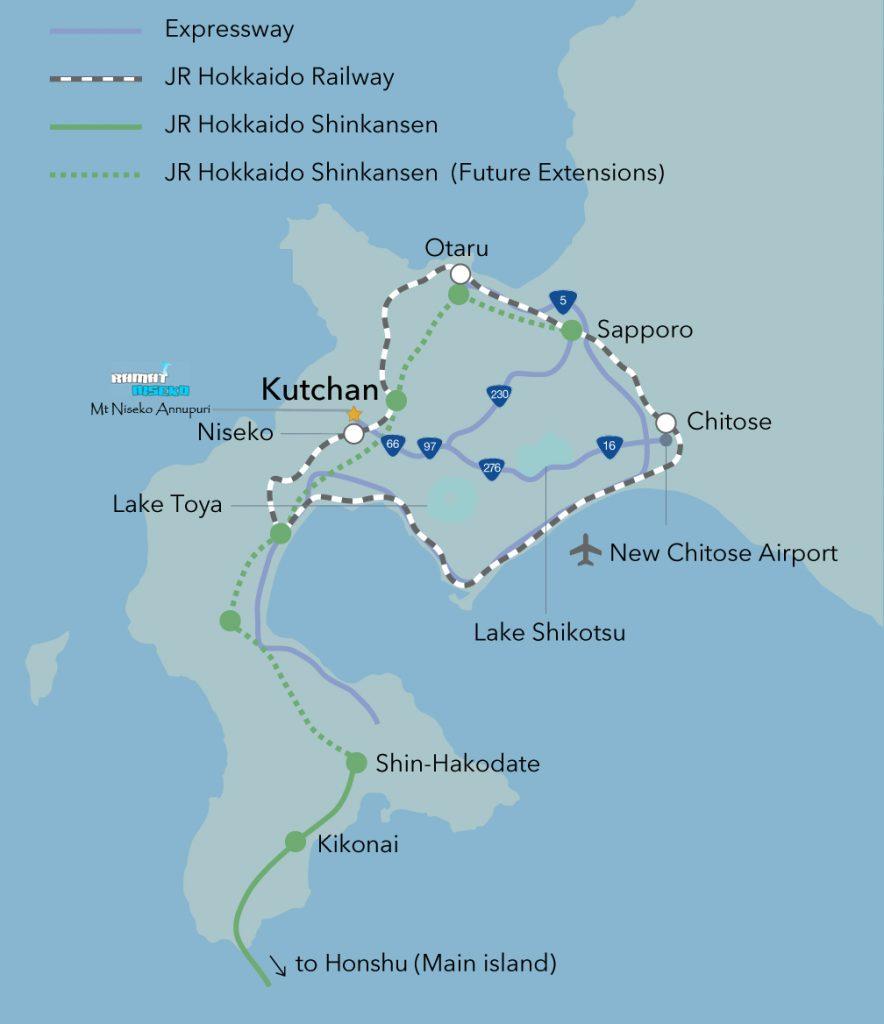 Hokkaido-Map