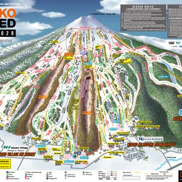Niseko Resort and Trail Maps